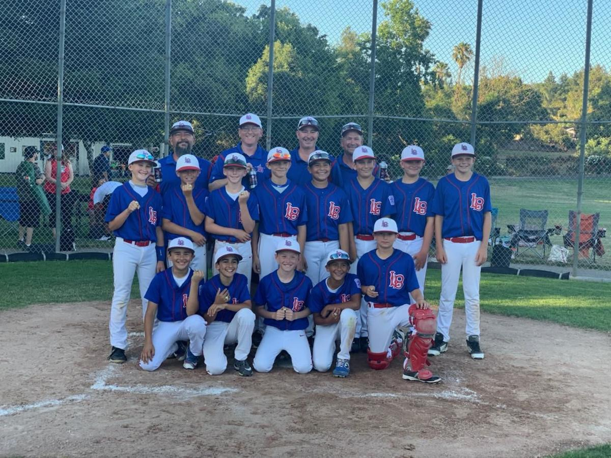 Livermore Little League 11-Year-Old District All Star Team