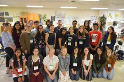 Go Green Initiative students