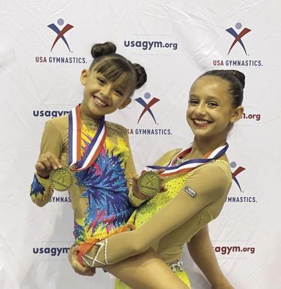 SPORTS - Gymnasts - Devyn and Addison Giacomazzi.tif