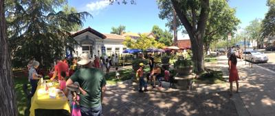 Attendees Enjoying Pleasanton's Museum