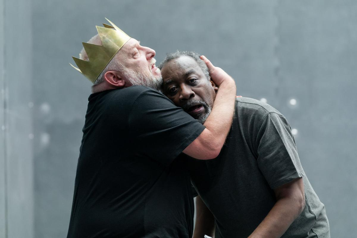 Bankhead - NTL 2019 Richard II - Simon Russell Beale and Joseph Mydell. Photo by Marc Brenner-rd