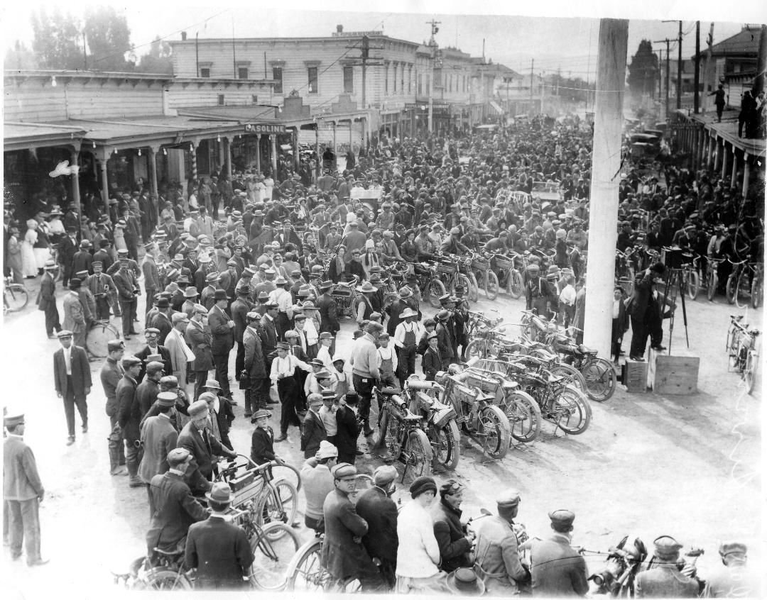 Livermore Then and Now - Motorcycle Race