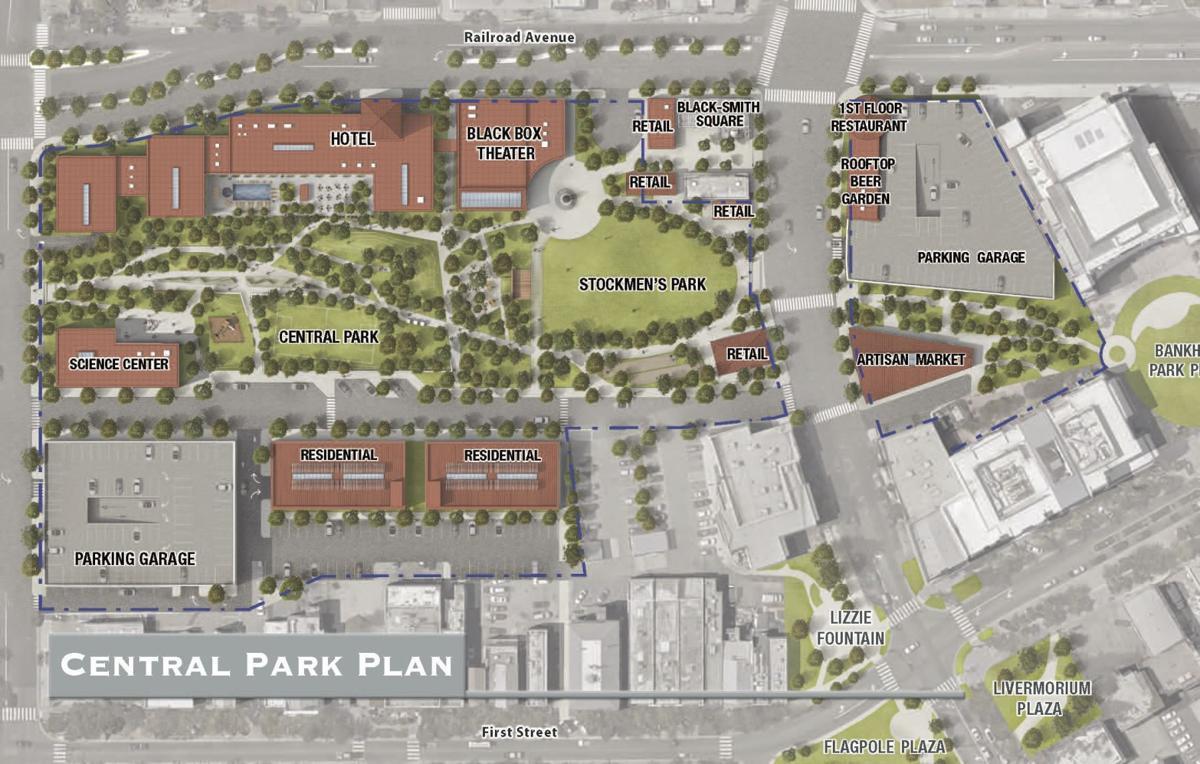 Central Park Plan