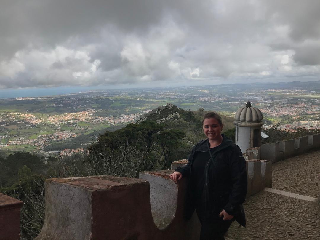 Sam in Sintra