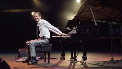 The Backwards Piano Man - Jason Lyle Black