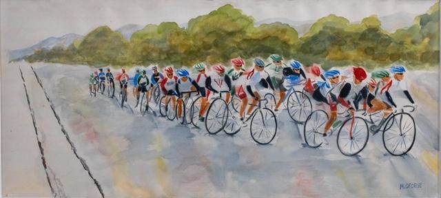 Livermore Then and Now - Bicycle Race
