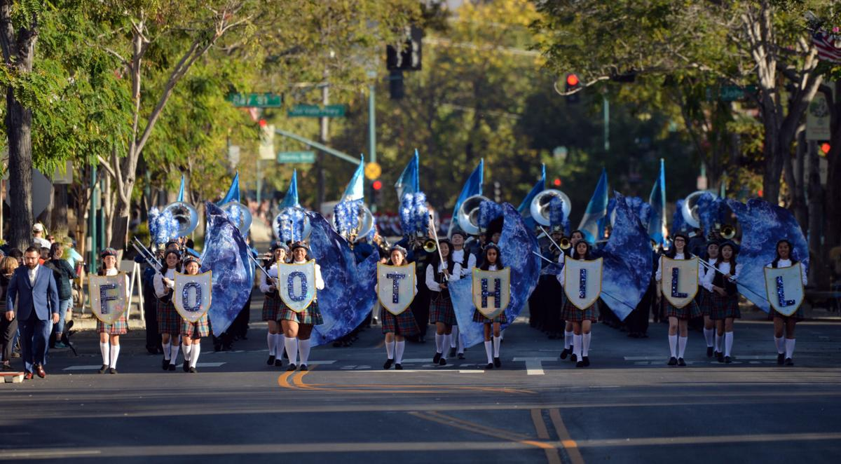 The Foothill High School Marching Band 2