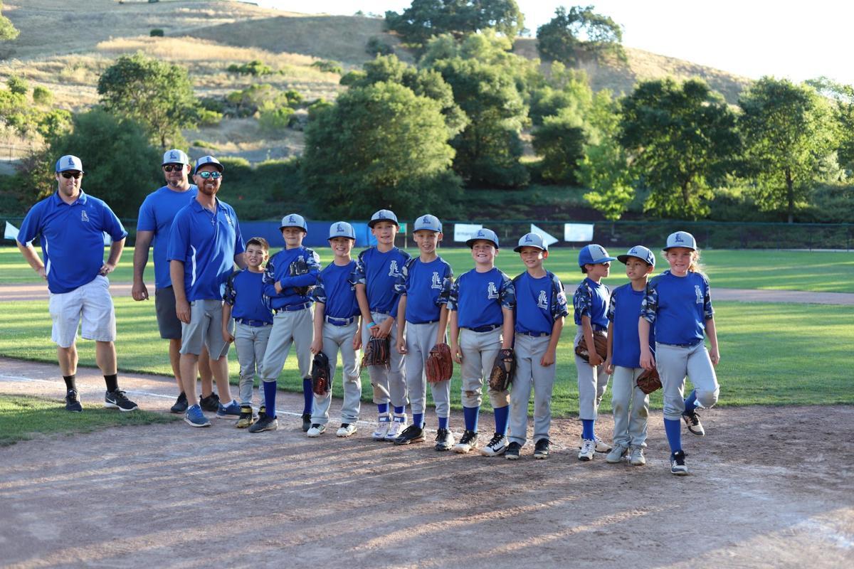 Livermore Little League's Silver 9's Tournament Team