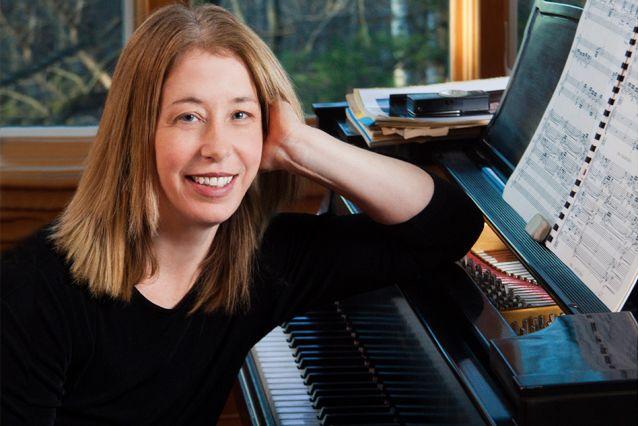 Composer Elena Ruehr