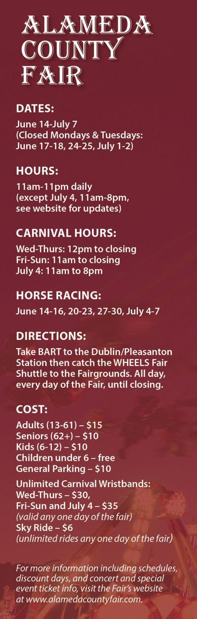 ALCO Fair Info Bar