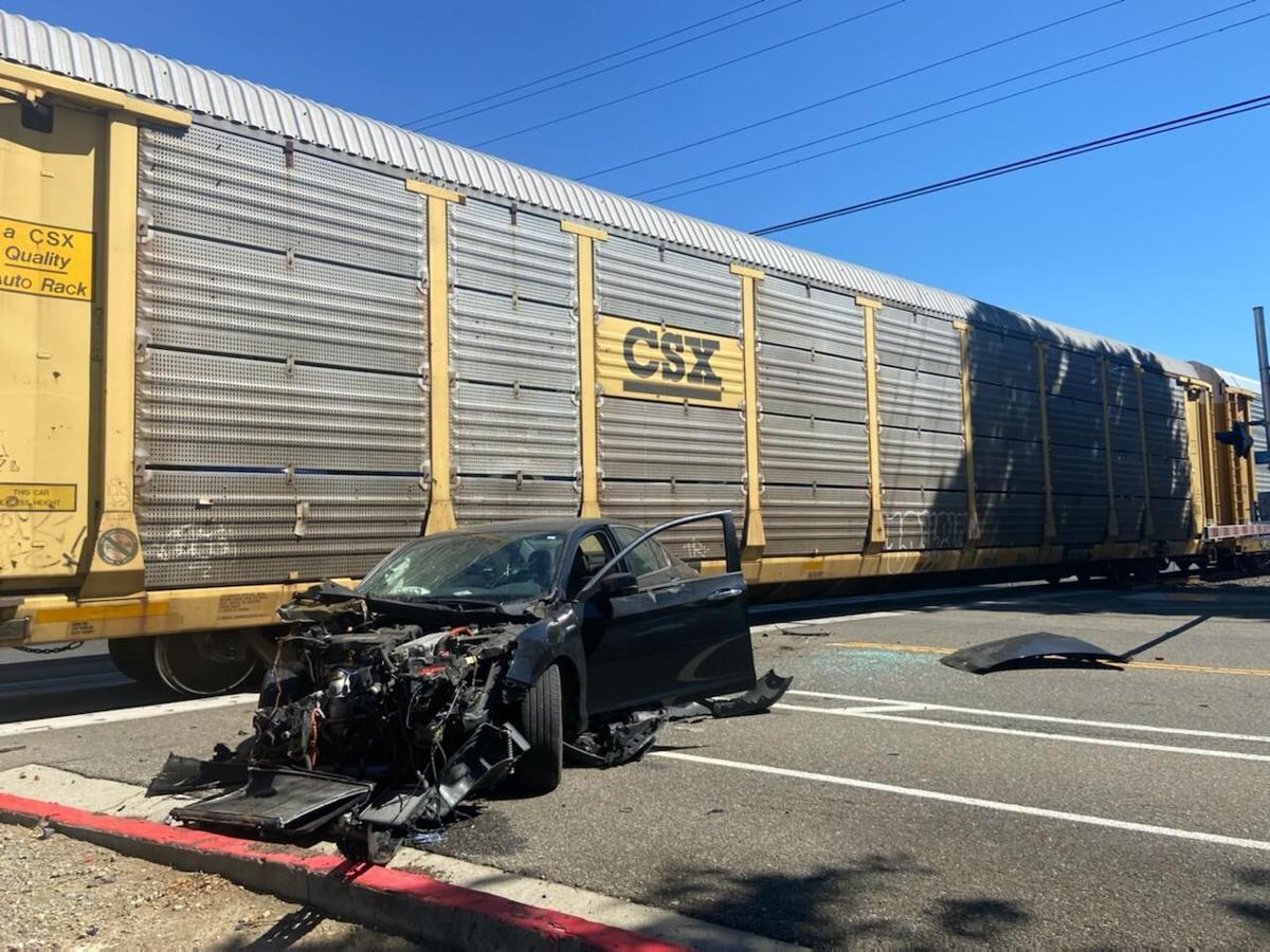 Traffic Delayed Due to Train vs Car Collision in Pleasanton 2