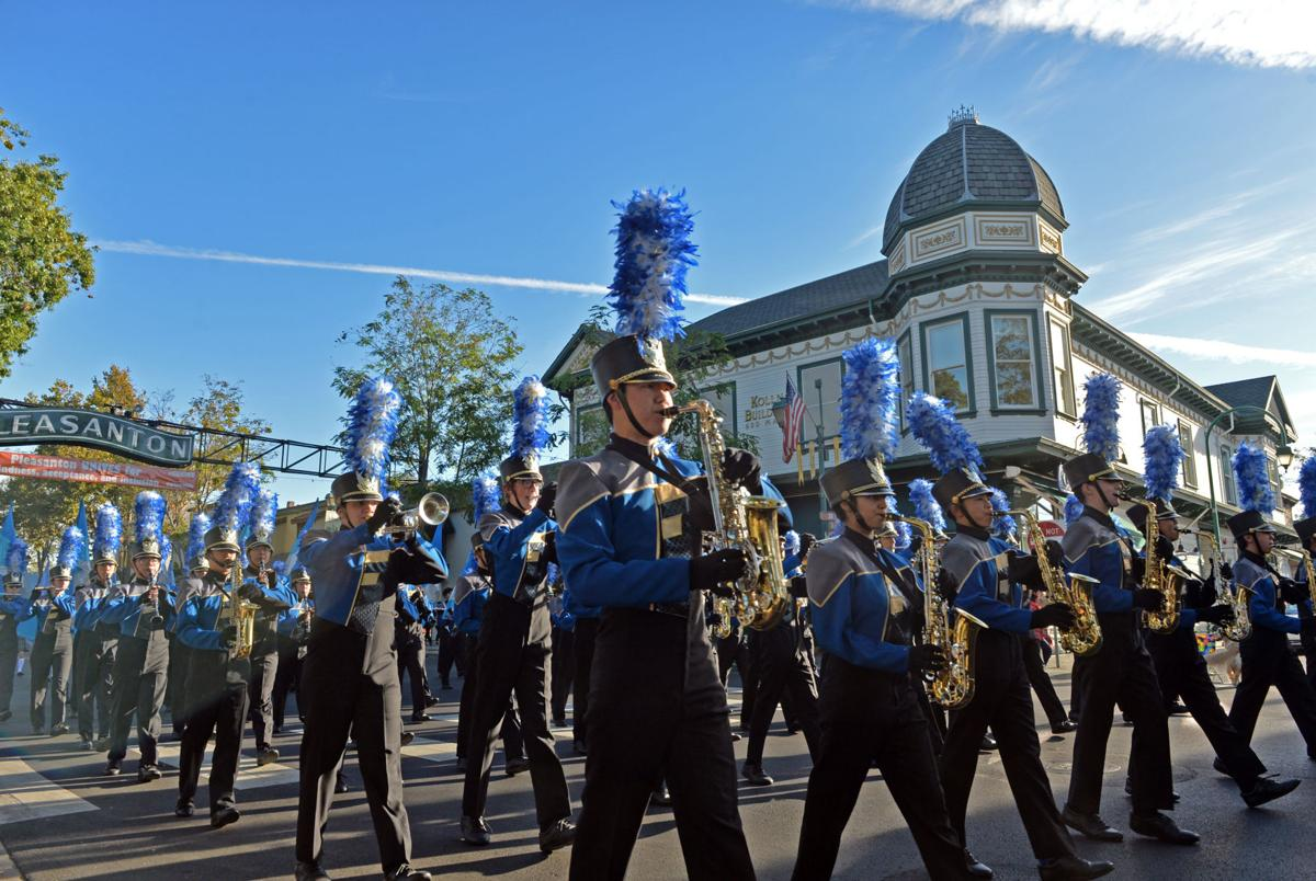 The Foothill High School Marching Band