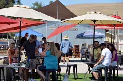 Leisure Street Celebrating Wine Harvest
