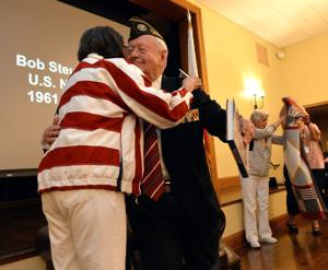 Quilts of Valor Ceremony Celebrates 18 Veterans