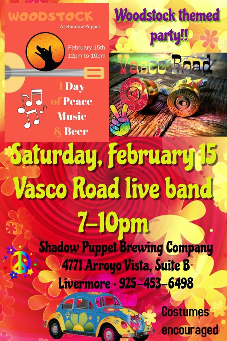Vasco Road at Woodstock Shadow Puppets