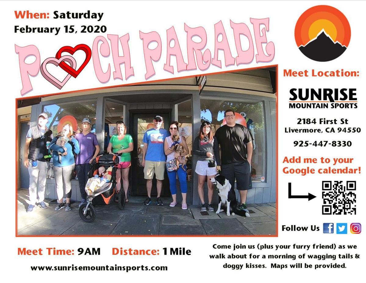 Pooch Parade Dog Walk feb