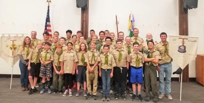 BSA Scout Troop 999B and Troop 999G OCT2019