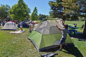 Dublin's second Family Campout took place in Alamo Creek Park on July 13-14. The final campout of the season will take place on August 3-4 at Schaefer Ranch Park. (Photos – Doug Jorgensen)
