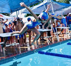 Pleasanton Valley Club Swimming
