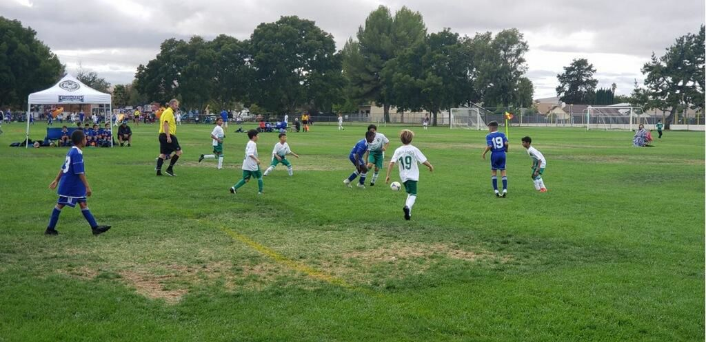 Earthquakes U10 Boys Team Rumble