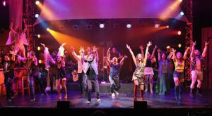 review pacific coast repertory theatre production rock of ages