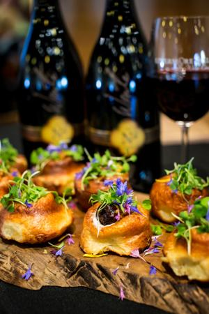 <p>Wine pairing at Taste Our Terroir</p>