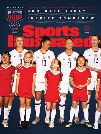 Livermore Soccer Player on Cover of Sports Illustrated