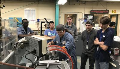 Bay Area High School Students at LLNL