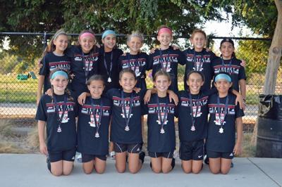 Fusion Soccer Club's U12 Girls Maroon