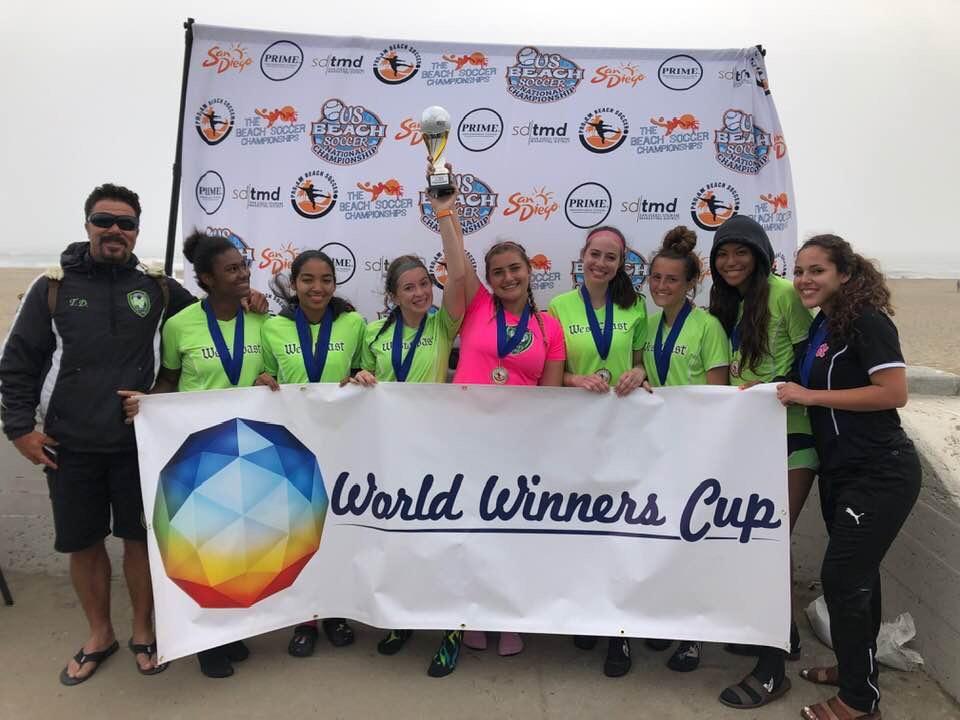 West Coast Soccer Club Dominates ProAm Beach Soccer Championship