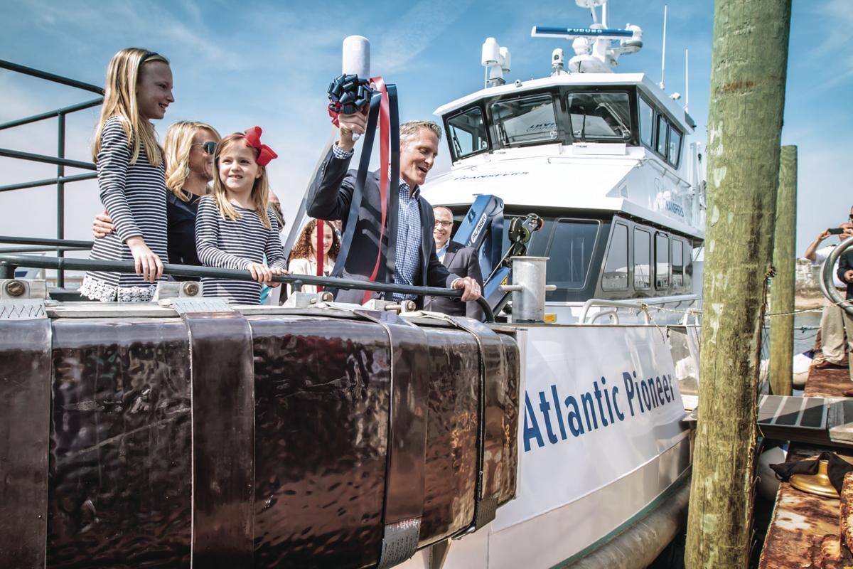 Rhode Island Fast Ferry's christening