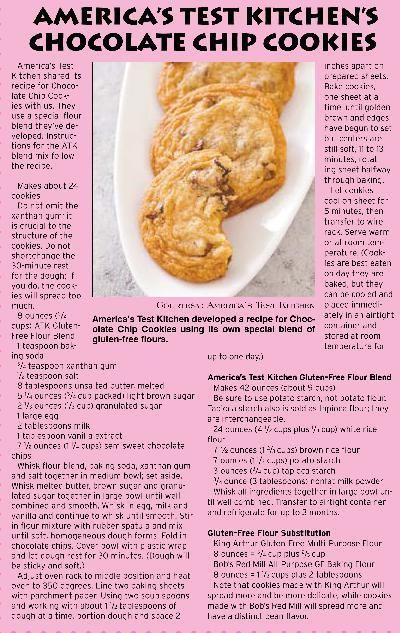 Recipe America S Test Kitchen S Chocolate Chip Cookies Independentri Com