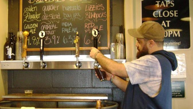 Straight to the Pint: Certain beers tap into an aggressive theme