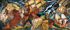 Plantation mural returns to South County