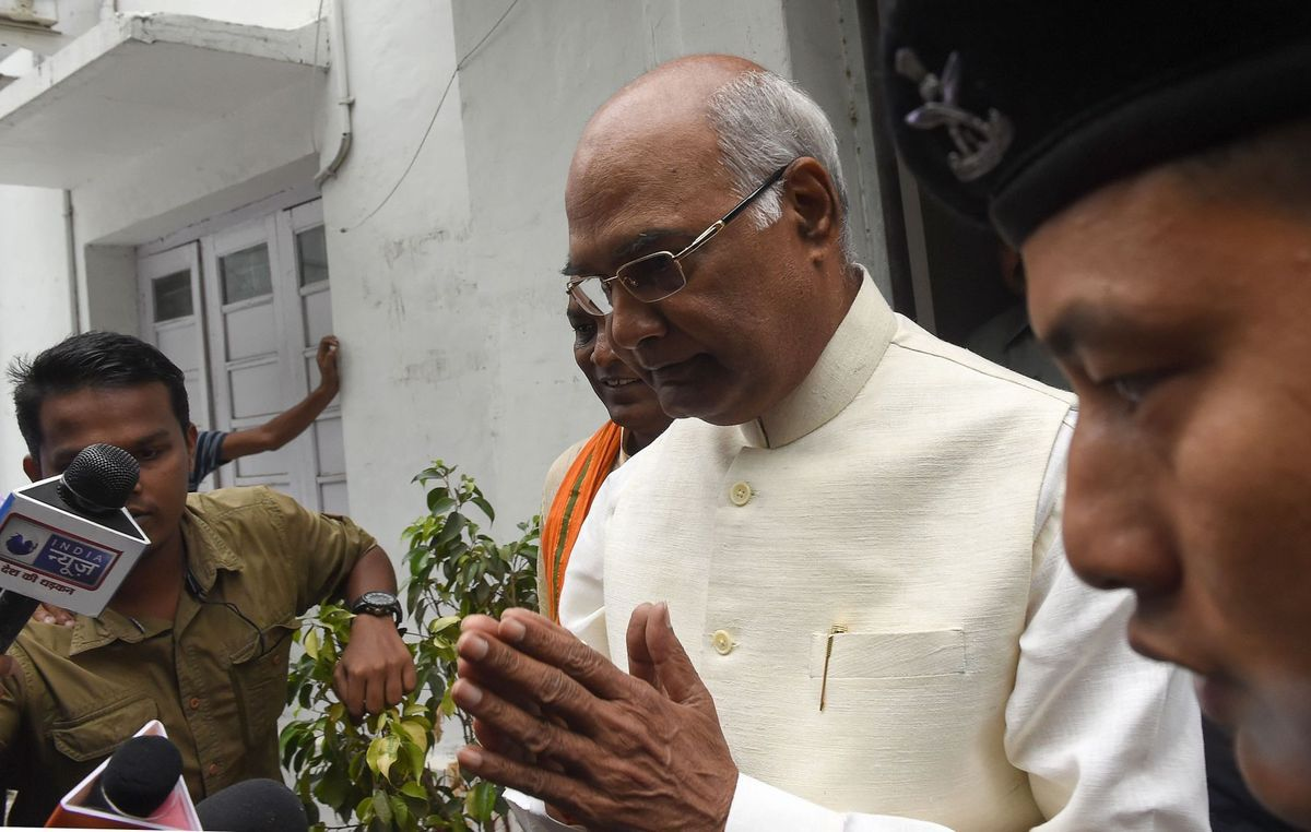 President Kovind praises PM Modi's schemes in maiden address