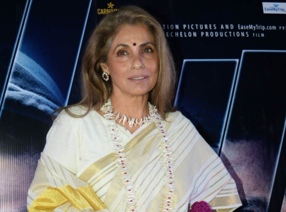 Indian Actress Dimple Kapadia Cast in Christopher Nolan's Film 'Tenet'