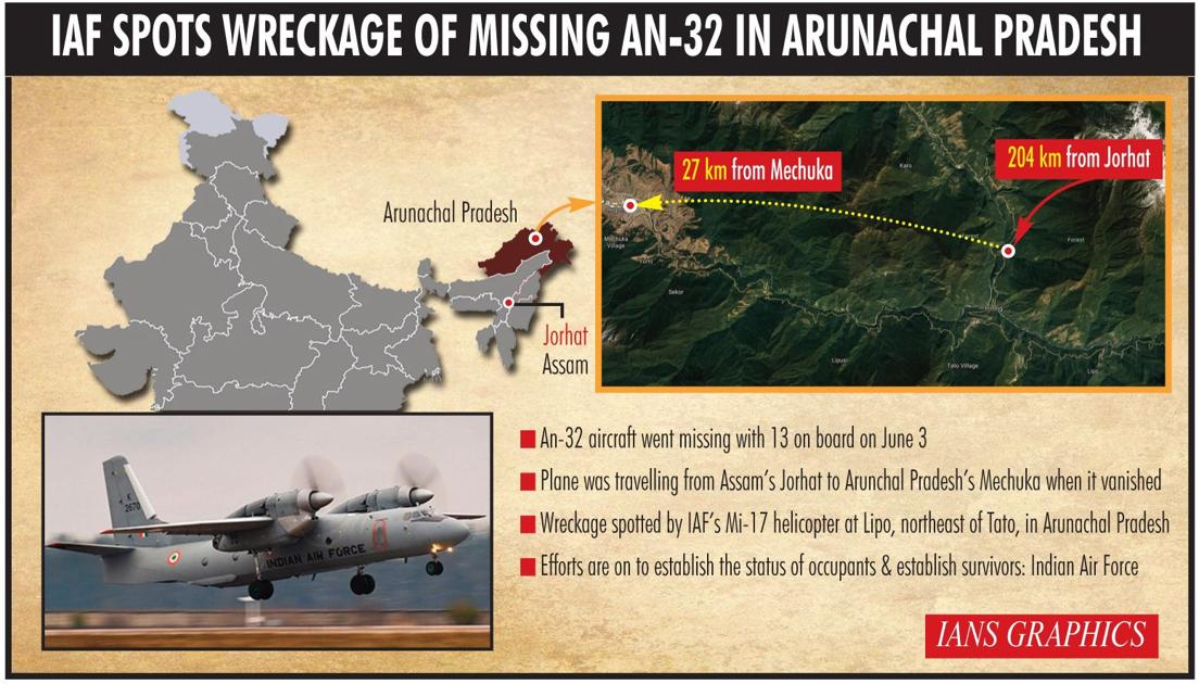 No Survivors in Indian Air Force Plane Crash, Say