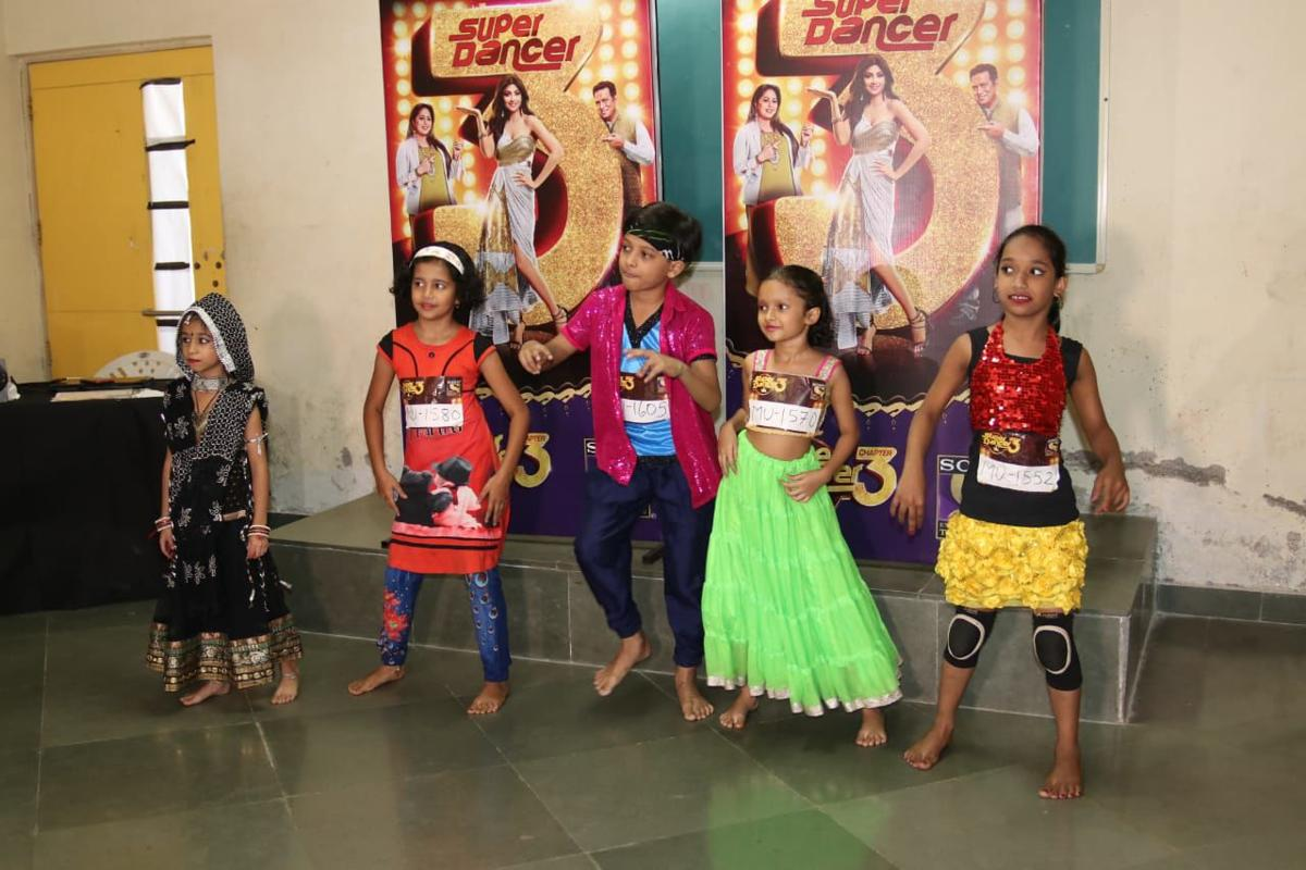 Sony Entertainment Television's 'Super Dancer Chapter 3' Auditions