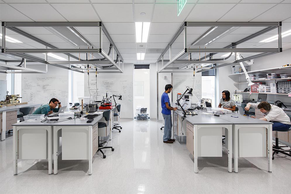 Boston University Opens New Science And Engineering