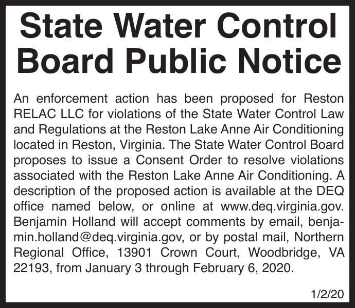 State Water Control