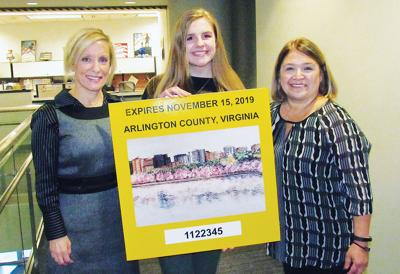 O'Connell junior wins 2018 Arlington decal competition