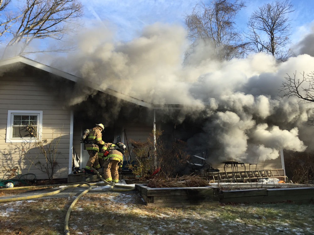 Two firefighters, officer injured fighting Oakton house fire