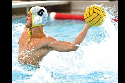 Swimmer David Galion