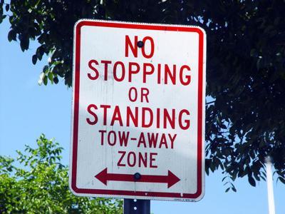 no parking generic tow