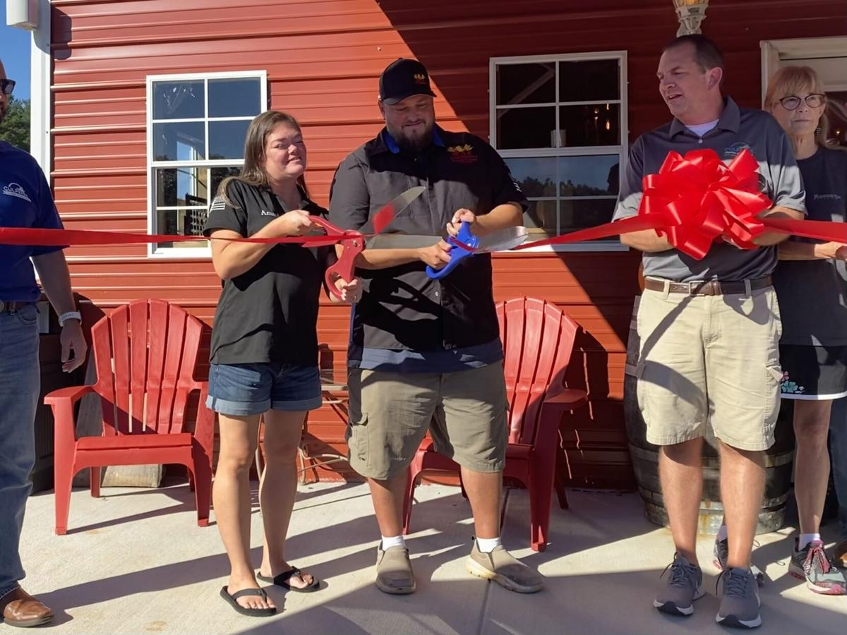 Veteran opens trifecta location of brewery, winery, cidery