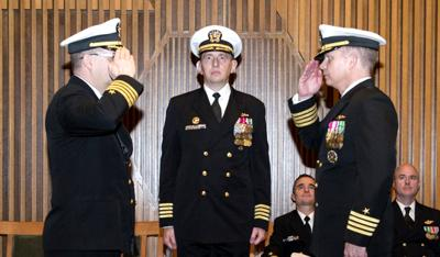 Vienna resident takes command of ballistic-missile submarine