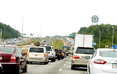 i-95 traffic at potomac mills mall