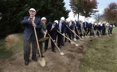 Governor Breaks Ground on New Veterans Care Center