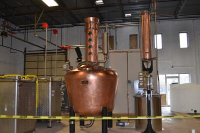 Copper still at KO Distilling