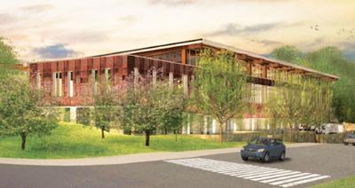 Concept design for Lubber Run Community Center
